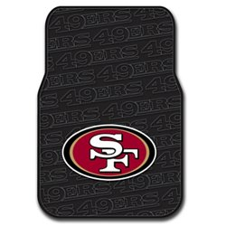 The Northwest Company San Francisco 49ers Front Car Floor Mats 2-Pack