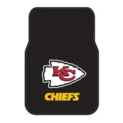The Northwest Company Kansas City Chiefs Front Car Floor Mats 2-Pack
