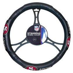 The Northwest Company San Francisco 49ers Steering Wheel Cover