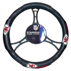 The Northwest Company Kansas City Chiefs Steering Wheel Cover