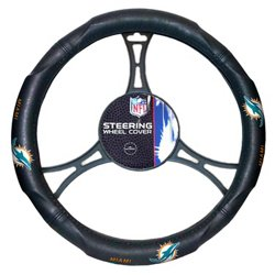 The Northwest Company Miami Dolphins Steering Wheel Cover
