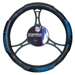 The Northwest Company Carolina Panthers Steering Wheel Cover