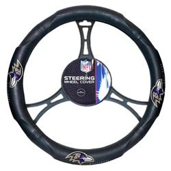 The Northwest Company Baltimore Ravens Steering Wheel Cover