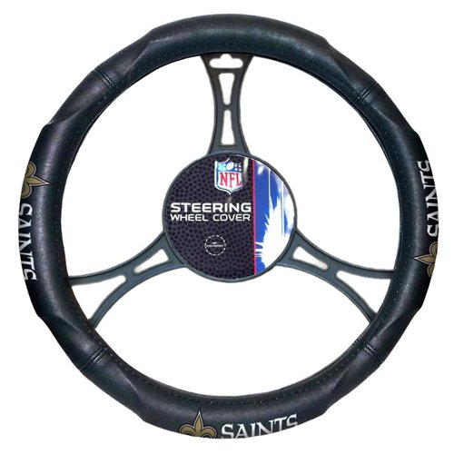 The Northwest Company New Orleans Saints Steering Wheel Cover