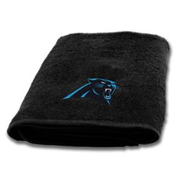 The Northwest Company Carolina Panthers Appliqué Bath Towel