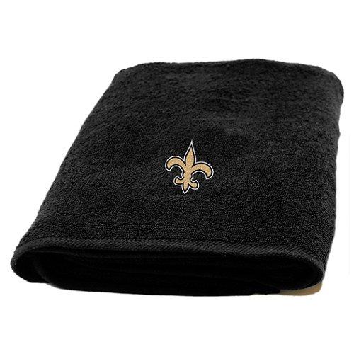 The Northwest Company New Orleans Saints Appliqué Bath Towel
