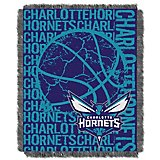 The Northwest Company Charlotte Hornets Double Play Triple Woven Jacquard Throw