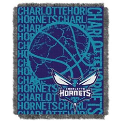 Charlotte Hornets Double Play Triple Woven Jacquard Throw
