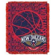The Northwest Company New Orleans Pelicans Double Play Triple Woven Jacquard Throw