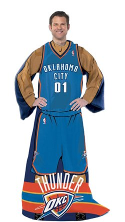 The Northwest Company Oklahoma City Thunder Uniform Comfy Throw