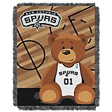 The Northwest Company San Antonio Spurs Half Court Woven Jacquard Throw