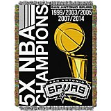 The Northwest Company San Antonio Spurs Commemorative Tapestry Throw