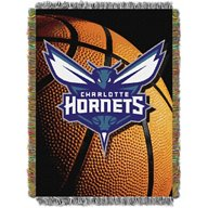 The Northwest Company Charlotte Hornets Photo Real Tapestry Throw