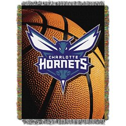 Charlotte Hornets Photo Real Tapestry Throw