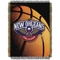 The Northwest Company New Orleans Pelicans Photo Real Tapestry Throw