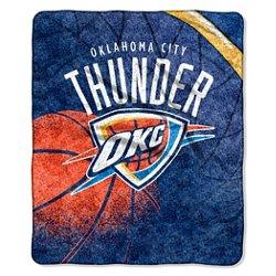 The Northwest Company Oklahoma City Thunder Reflect Sherpa Throw