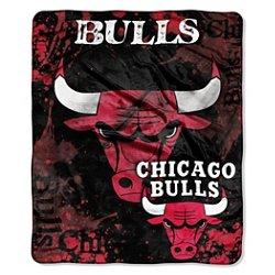 The Northwest Company Chicago Bulls Dropdown Raschel Throw