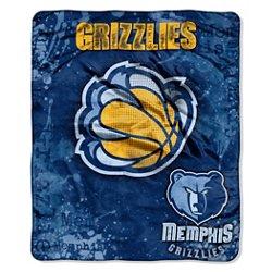 The Northwest Company Memphis Grizzlies Dropdown Raschel Throw