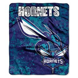 The Northwest Company Charlotte Hornets Dropdown Raschel Throw