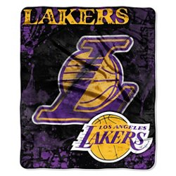 The Northwest Company Los Angeles Lakers Dropdown Raschel Throw