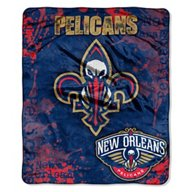 The Northwest Company New Orleans Pelicans Dropdown Raschel Throw