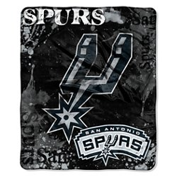 The Northwest Company San Antonio Spurs Dropdown Raschel Throw