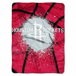 The Northwest Company Houston Rockets Shadow Play Super Plush Throw