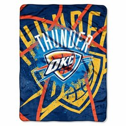 The Northwest Company Oklahoma City Thunder Shadow Play Super Plush Throw