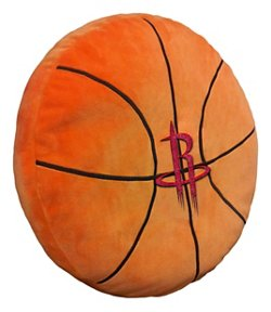The Northwest Company Houston Rockets Basketball Shaped Plush Pillow