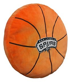 The Northwest Company San Antonio Spurs Basketball Shaped Plush Pillow