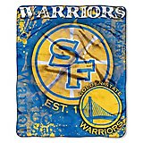 The Northwest Company Golden State Warriors Dropdown Raschel Throw