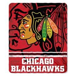 The Northwest Company Chicago Blackhawks Fade Away Fleece Throw