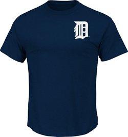 Majestic Men's Detroit Tigers Official Wordmark T-shirt