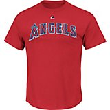 Majestic Men's Los Angeles Angels of Anaheim Official Wordmark T-shirt