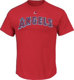 Majestic Men's Los Angeles Angels of Anaheim Official Wordmark T-shirt