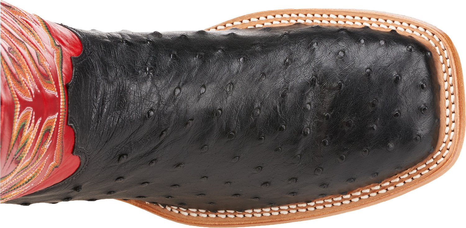 Justin Men's Full Quill Ostrich AQHA Remuda Western Boots - view number 5