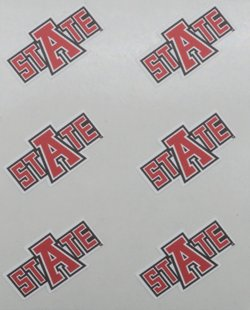 Stockdale Arkansas State University Face Decal