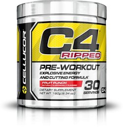 Cellucor C4 Ripped Preworkout Supplement