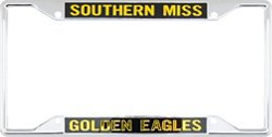 Stockdale University of Southern Mississippi Mirror License Plate Frame