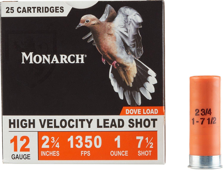 Monarch® Light Dove 12 Gauge 7.5 shot Shotshells