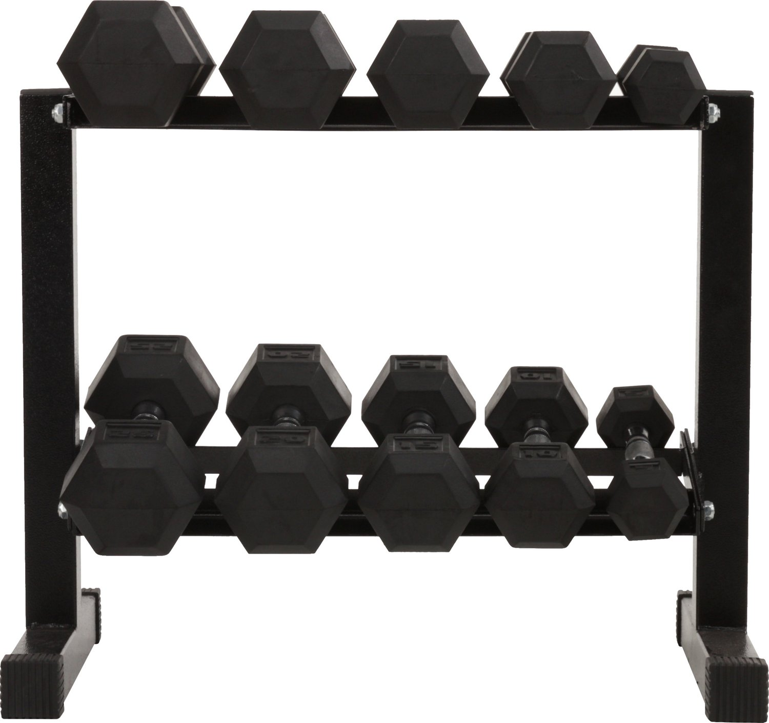 6e8467e2af0 Display product reviews for BCG 150 lbs Rubber Hex Dumbbell Set