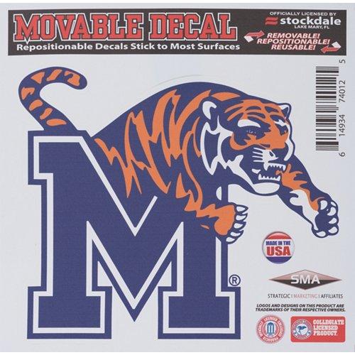 Stockdale University of Memphis 6' x 6' Decal