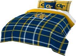 The Northwest Company Georgia Tech Full Comforter and Sham Set