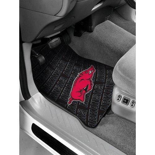 The Northwest Company University of Arkansas Car Floor Mats 2-Pack