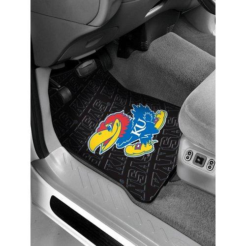 The Northwest Company University of Kansas Car Floor Mats 2-Pack