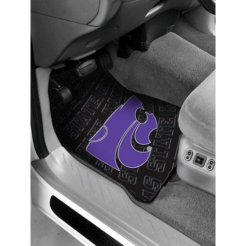 The Northwest Company Kansas State University Car Floor Mats 2-Pack