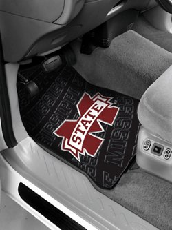 The Northwest Company Mississippi State University Car Floor Mats 2-Pack