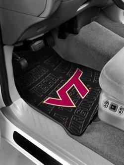The Northwest Company Virginia Tech Car Floor Mats 2-Pack