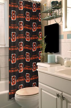 The Northwest Company Cincinnati Bengals Shower Curtain