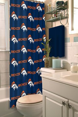 The Northwest Company Denver Broncos Shower Curtain
